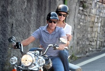 George Clooney on Lake Como