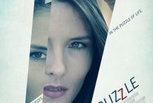 """inspiration: POSTERS: MOVIES: """"JIGSAW PUZZLE"""" (2012)"""