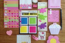 Stationery Love / All stationery, cute and lovely paper things, stuff and post it