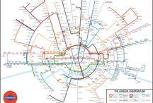 mapas de metrô