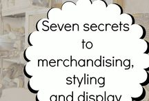 Merchandising - style, display,tips and secrets