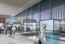 High speed train station/ Competition by invitation