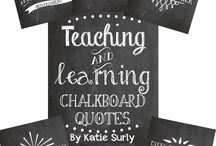 Chalkboard teach