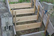 escaliers jardin