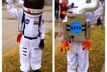 Disfraces de astronáutas