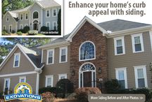 EXOVATIONS Before and After / A gallery of some of our favorite before and after home exterior makeover photos. Enjoy the pics of these remarkable house transformations. You won't believe these stunning home facelifts. | Atlanta, Georgia exterior renovations / by EXOVATIONS