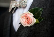 Wedding Boutonnières + Corsages / by A Modern Proposal - Edmonton Wedding Planner