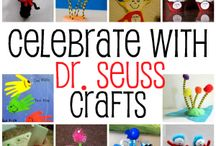 We Love Dr. Seuss / Dr Seuss related activities to do with your kids! Great way to encourage of love of reading! / by White House Nannies