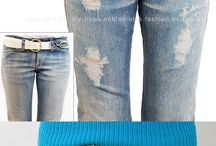 Farkku / Destroyed jeans,