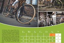 Okładka kalendarza i layouty stron