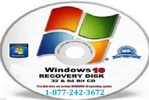 Call 1-8772423672 to Create and Use System Recovery Disk in Windows 10