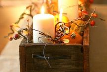 Fall Decor  / by Britany Cates Rodriguez
