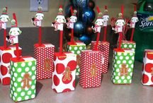 Elf themed christmas party  / by Jennifer Flesher-Jackubowski