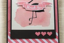 Card inspiration / Cards to tweak or with great colour and pattern combo....