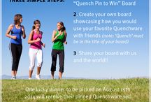 Pin to Win! / Want to WIN your favorite Quench Glassware set? Well here's your chance!
