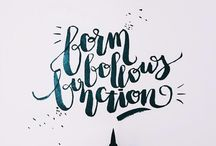 My Lettering & Calligraphy / iPad lettering in Procreate. Copperplate calligraphy done with a dip pen. Modern calligraphy done with brushes or a brush pen. More on instagram.com/juhichitra