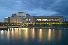 Gaylord National Resort / This monumental new addition to the Washington D.C. area stands majestically on the banks of the Potomac - a cornerstone of Maryland's newest city, National Harbor. / by Gaylord Hotels