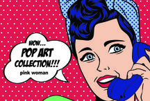 POP ART Collection! / Fashion is just one click away! Shop at www.pinkwoman-fashion.com!