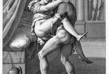 Agostino Carracci - Erotic Engravings, 1798.