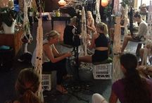 Workshops / Island Collective offers workshops throughout the year in Macrame, Art and Craft.