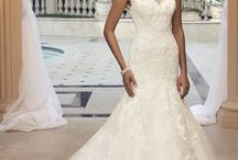 Wedding Dresses / After you've found your dream ring, and before you get your something blue, you have to find that one dress you've been waitong your whole life to wear...
