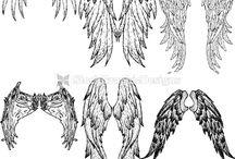 křídla-tetování