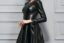 Leather...