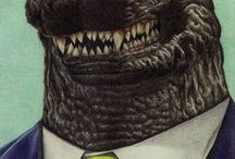 Mr. Godzilla / Это я. Эта доска очень похожа на мой характер и многое другое из моих чувств.