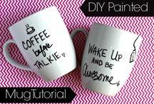 Mugs and a pen