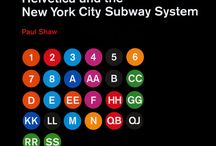 Subway and Bus Logos / Helvetica is a beautiful typeface and it was used for all the subway lines.  Check it out below! Which is your stop?  Which will be your Next Stop?