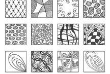 Zentangle Patterns / Ideas / Zentangle patterns, inspiration and ideas