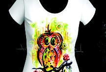 Art RALU Painted T-shirts