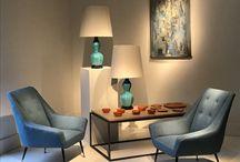 Mood boards / #winterblues #home decor #design #17-21antiques