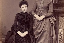 Ladies' Hair - Transition 1880's to 1890's