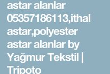 astar alanlar 05357186113,polyester astar alanlar