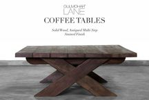 COFFEE TABLES, BENCHES & OFFICE DESKS