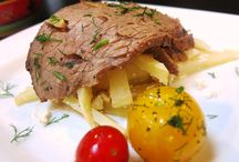 Delicious beef dishes