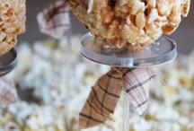 popcorn bar / by DeAnna O'Malley