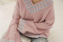 pullover selbstgestrickt