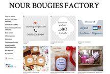 On parle de Nour Bougies factory / Les articles blog, sites  qui parlent de la boutique www.nourbougiesfactory.com