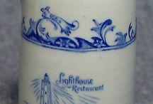 porcelán od babičky / staré šáločky, vázičky, dózy