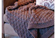 knitting throws