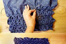 Шитьё ткани