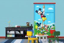 Mickey egér gyerekszoba