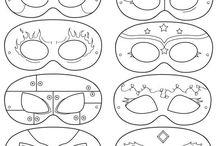 Masks templates