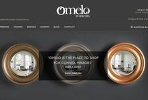 Our New Website / A much wider range of images of our convex mirrors, in each of our finishes.
