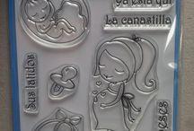 Sellos Acrilicos scrapbooking / Diseño de sellos acrilicos
