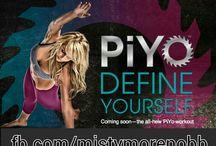 PIYO-new Chalene Johnson program / by Misty Moreno