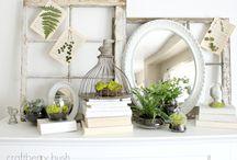 Home - mantle / by Danielle Klobucher