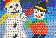 Lid Mania 2014 / The best works of Art from plastic lids